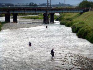 赤川橋より上流